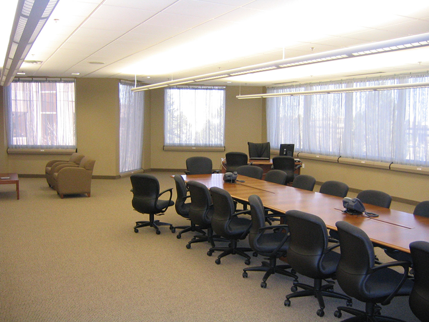 SAFETYDRAPE® Install in conference room